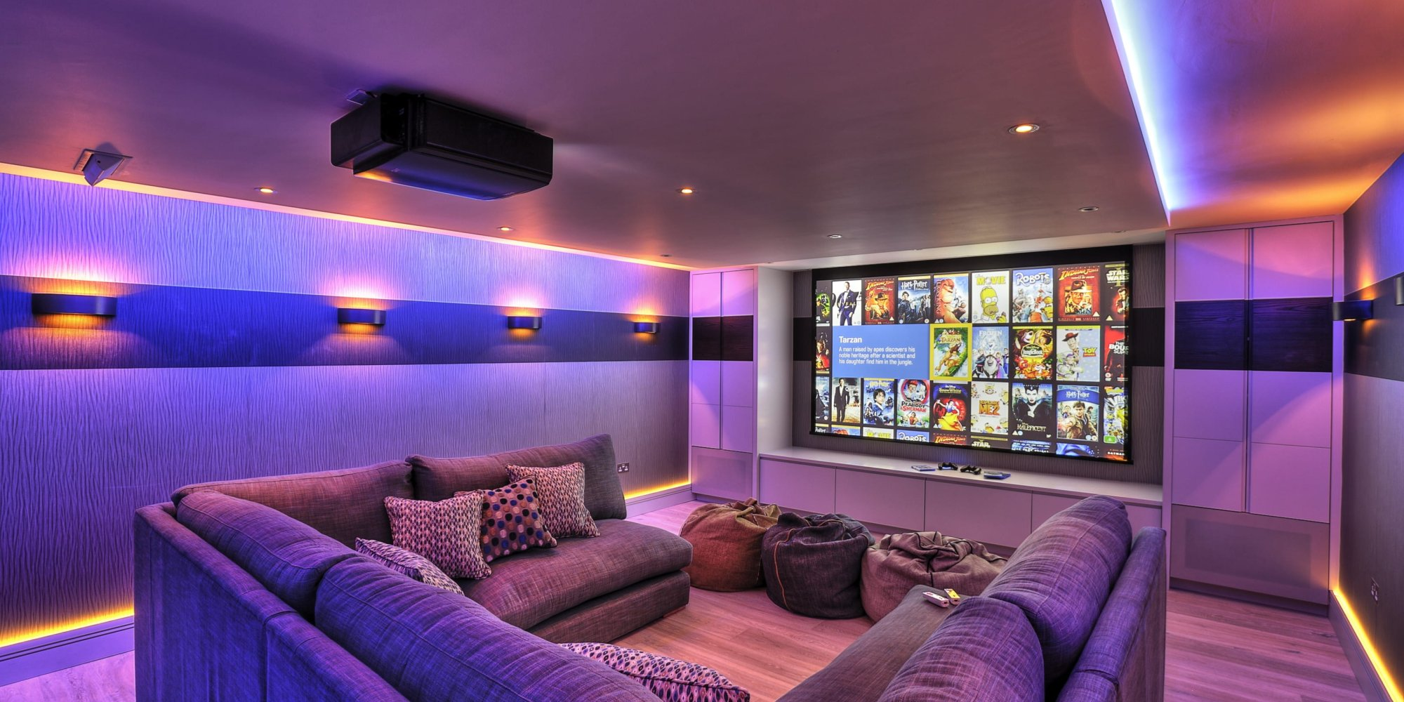Basement Cinema Conversion Kent