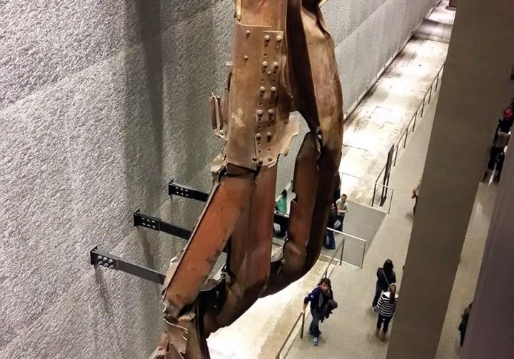 Exposición del Museo 11 de septiembre de la ciudad de Nueva York.