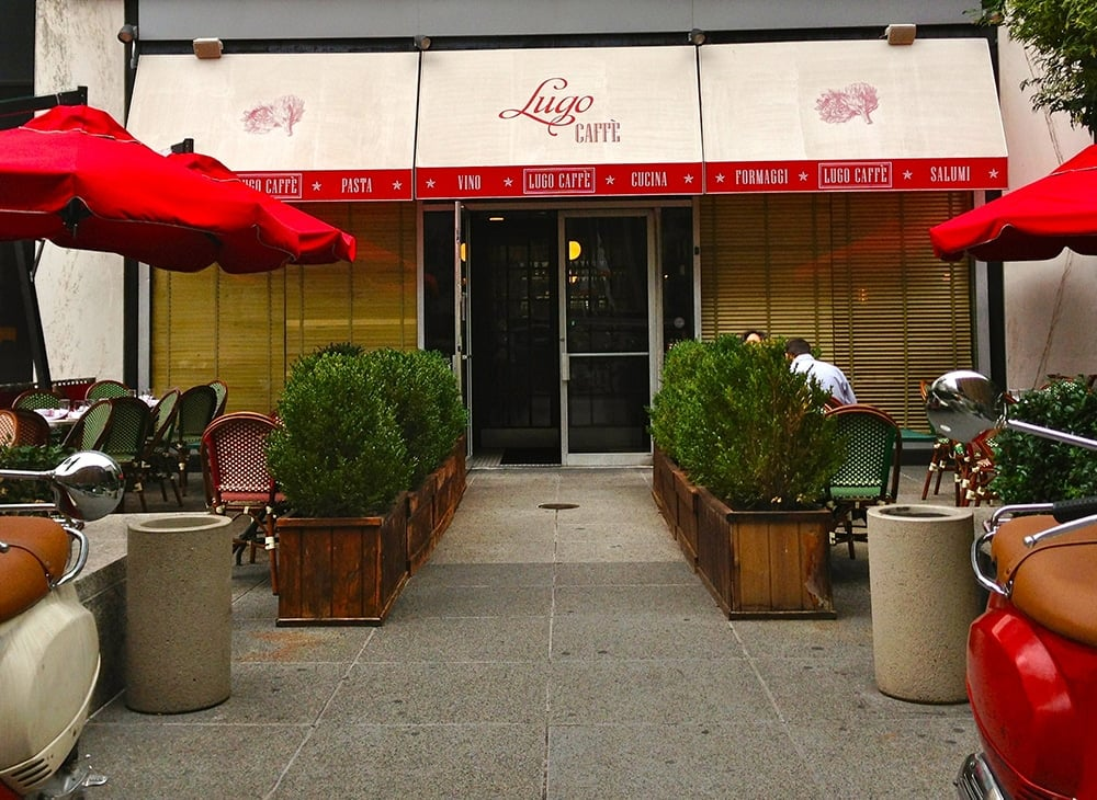 Lugo Cucina Italian Restaurant  New York City  New York by Rail