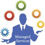 Managed IT service image of man