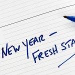New Year Fresh Start Notebook