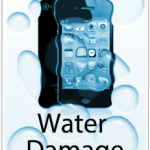 iPhone in water