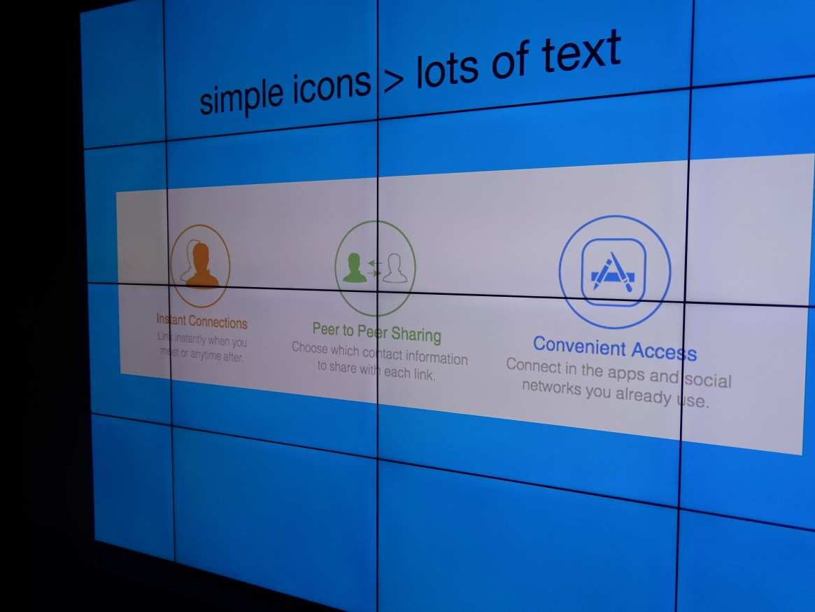 wix.com - simple icons win over text