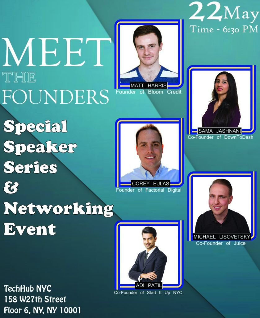 Meet the Founders - Special Speaker Series & Networking Event