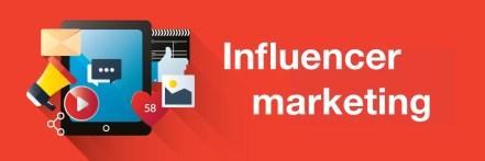 Using influencer marketing
