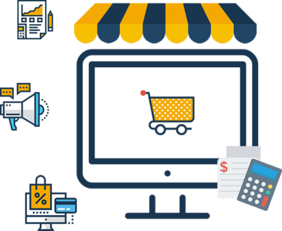 Retail E-commerce Software Market Share