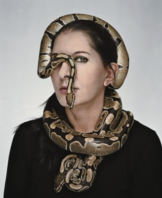 The artist stages her fears, she says, to transcend them. Photograph by Martin Schoeller.