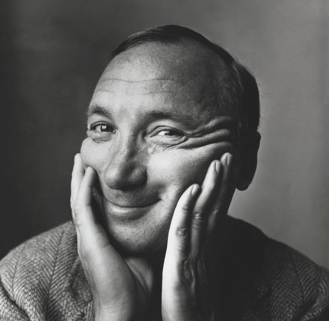 Neil Simon. Fotografía de Irving Penn. ©1970 Condé Nast Publications Inc.
