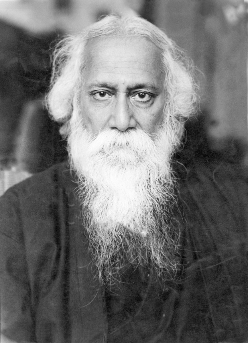 Tagore knew that his Western image was not his real self.