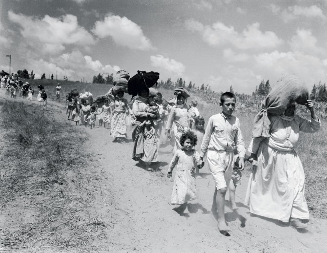 In Israel's first months, largely Arab cities emptied as inhabitants were forced to flee.