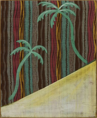 """""""The Palm Painting"""" (1964). Polke could seem to hit a reset button from phase to phase."""