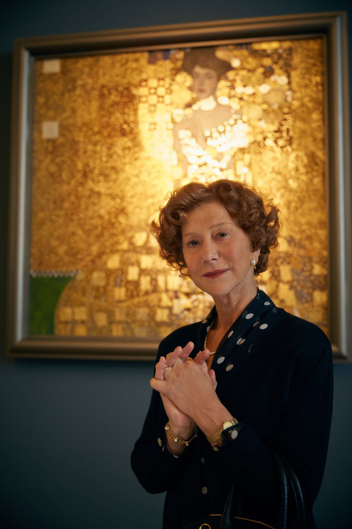 "Helen Mirren in ""Woman in Gold."""