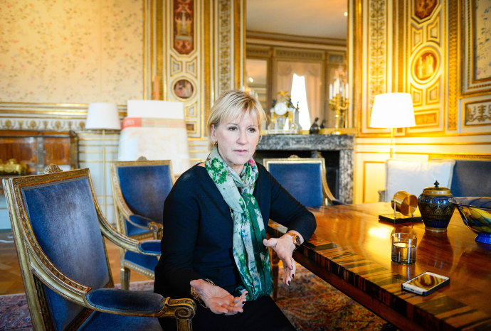 Margot Wallström came under fire from Saudi Arabia for her comments on the country's treatment of women.