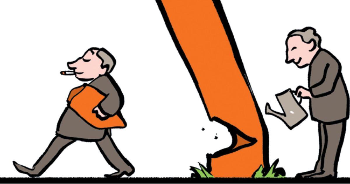 Image result for short termism cartoon