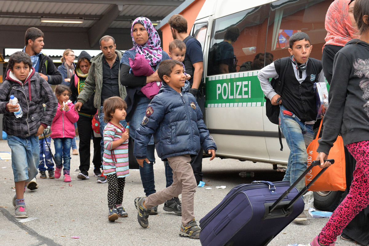 Image result for refugees in germany
