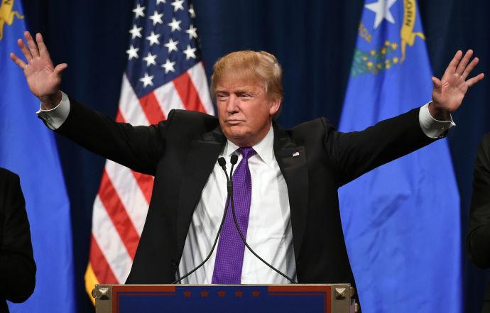 Donald Trump, in Las Vegas. Visit https://www.donaldjtrump.com/