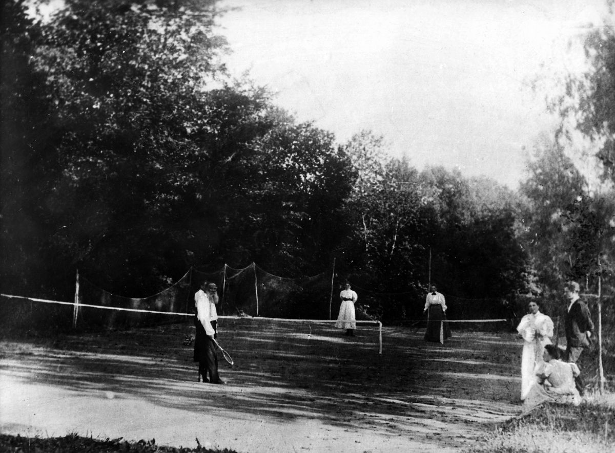 When Tolstoy was in his forties, he thought tennis was a faddish luxury, a pastime of the new rich, something imported, inauthentic.