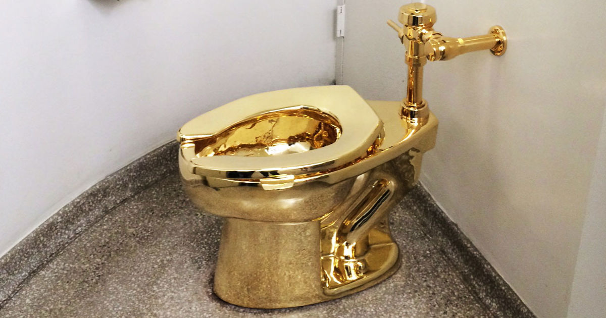 Gold Toilet  The New Yorker