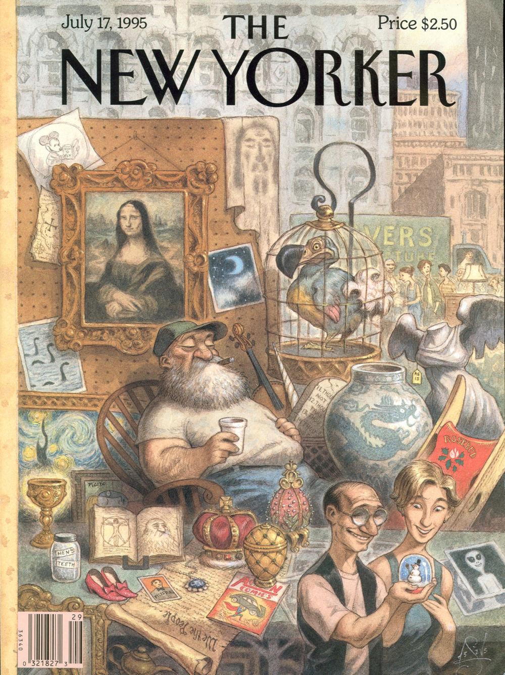 Cover Story Peter de Sves Rat Race  The New Yorker