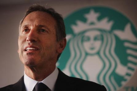 The departing Starbucks C.E.O. Howard Schultz's narrative about his company is one of excellence and focus, but it's really one of unrelenting expansion.