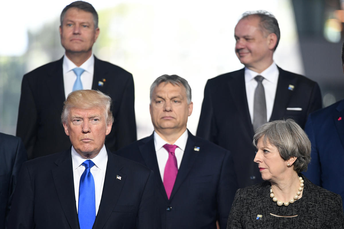 Image result for trump nato