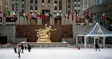 Ice Skating at Rockefeller Center NYC