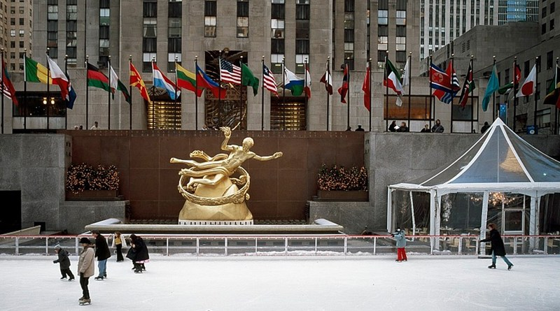Ice Skating at Rockefeller Center NYC
