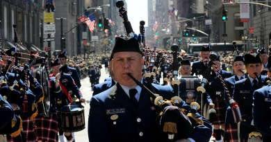 St. Patrick's Day Parade on March 17th