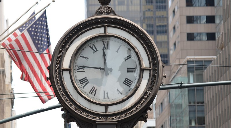 Daylight Savings - NYC Clock