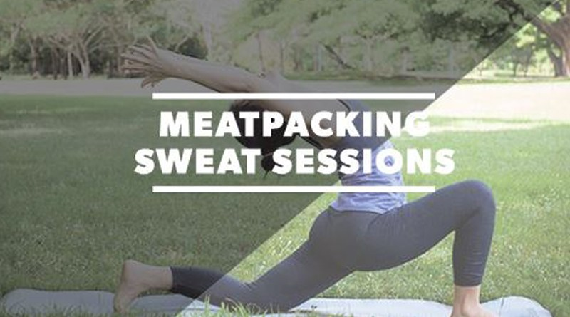 Free Sweat Sessions in Meatpacking District NYC