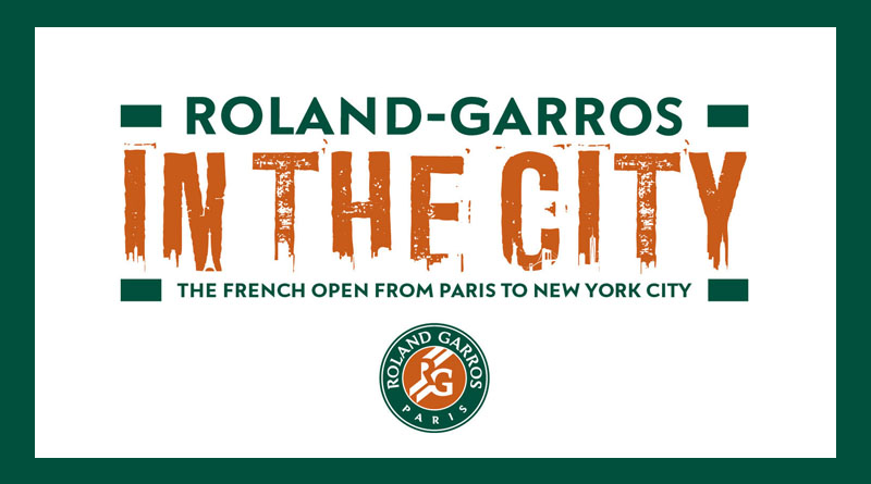 Roland-Garros from Brookfield Place NY, Battery Park City