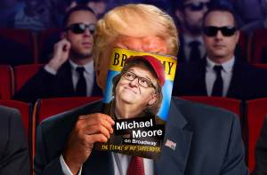 michael moore in the terms of my surrender broadway
