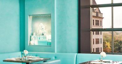 Blue Box Cafe at Tiffanys. Photo: Tiffany & Co