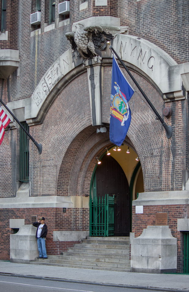 New York Architecture Photos 69th Regiment Armory