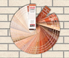 Acme Brick's color selector gives architects hundreds of choices....