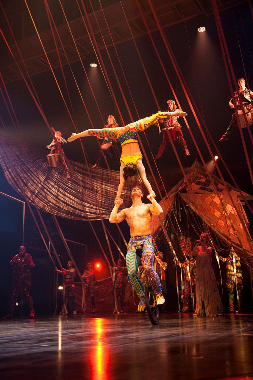 Cirque du Soleil VOLTA  New York Latin Culture Magazine