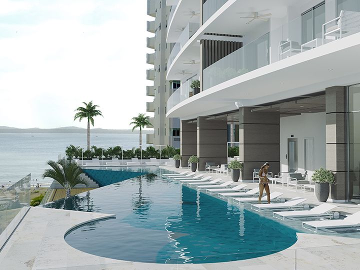 New York Luxury Tower  Apartamentos de lujo en Cartagena