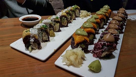 vegansk sushi_blogg