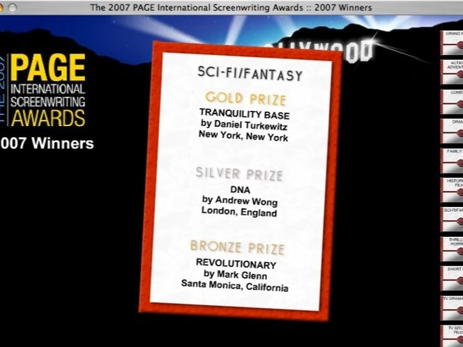 PAGE International Screenwriting Awards