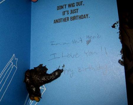 HQ Birthday Card