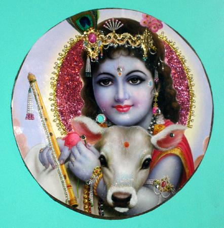 Krishna with Lamb