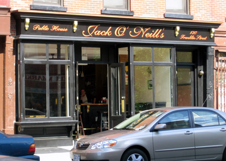Oneill's storefront