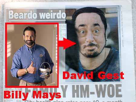 Billy Mays?