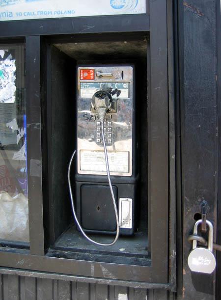 Nassau Avenue Pay Phone