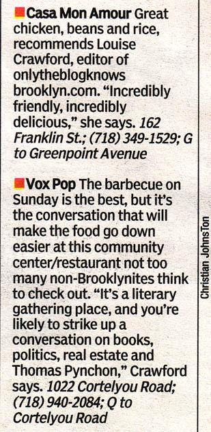 New York Post, 8/7/07