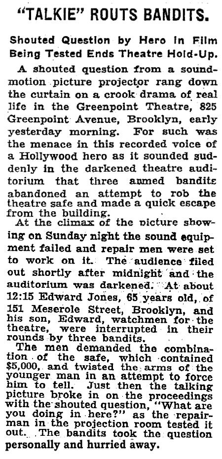 December 12, 1929 NYTimes
