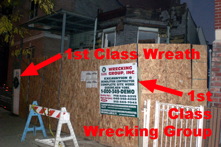 1st Class Wreath