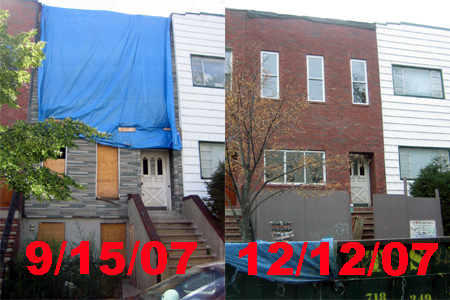 209 1/2 Eckford, then and now