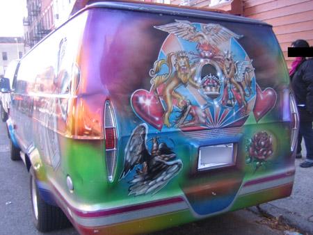 Van back
