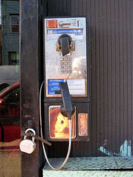 Blissville Pay Phone